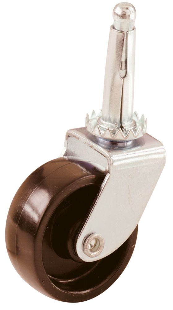 Select Single-Wheel Castor Stems 41mm 2 Pcs