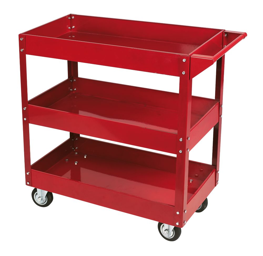 Hilka Pro-Craft 3-Tier Mechanics Service Cart 815 x 380mm