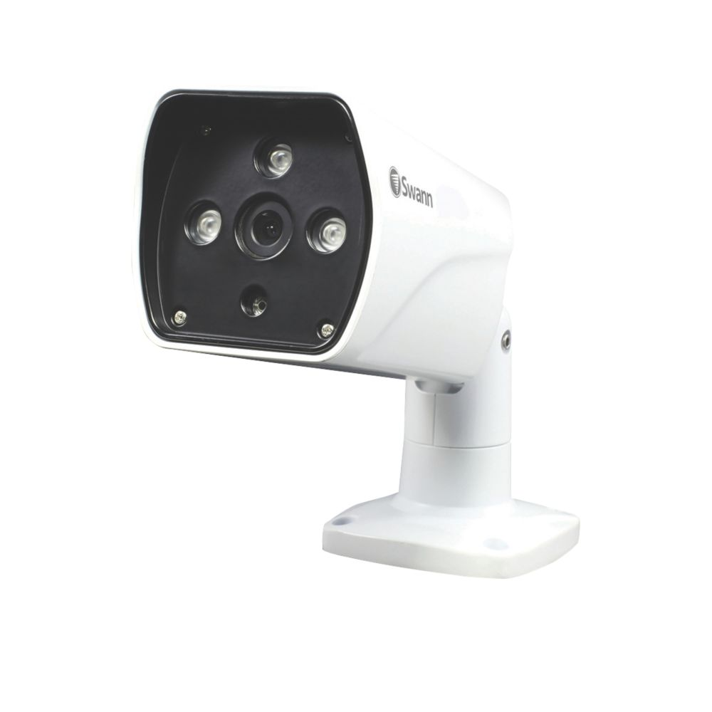 Swann   Wired 1080p Indoor & Outdoor  Long Range Bullet Camera with Audio