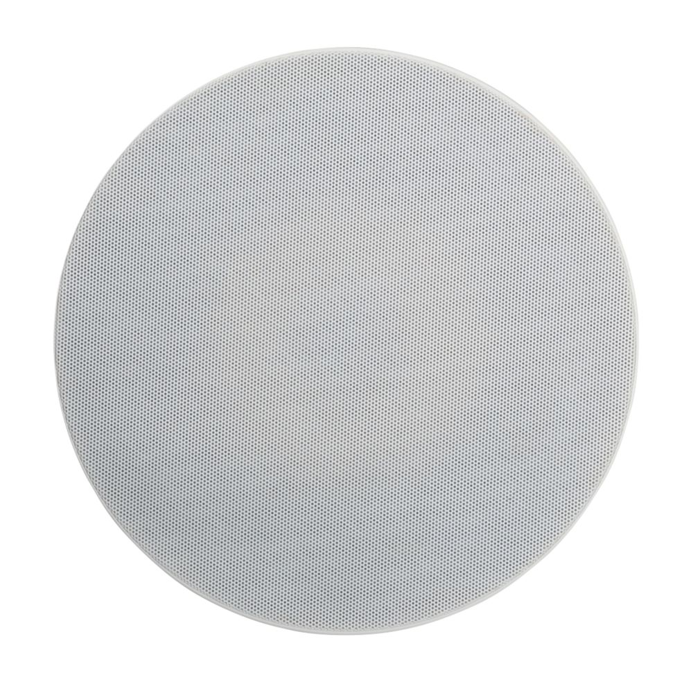 """Lithe Audio 01557 Ceiling Speaker White Grille 9"""" 50W RMS"""