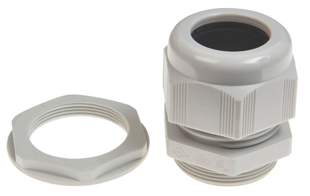 Schneider Electric Plastic Cable Glands  M32 10 Pack