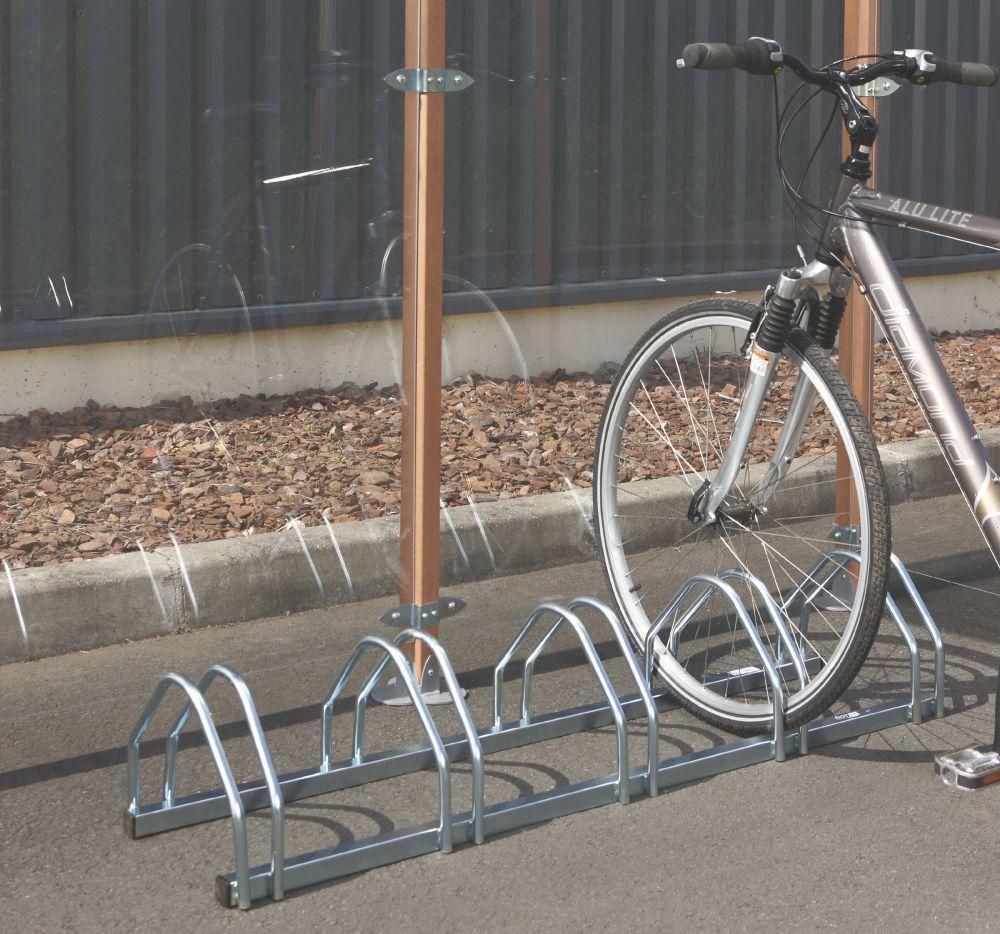 Mottez 5-Bike Rack