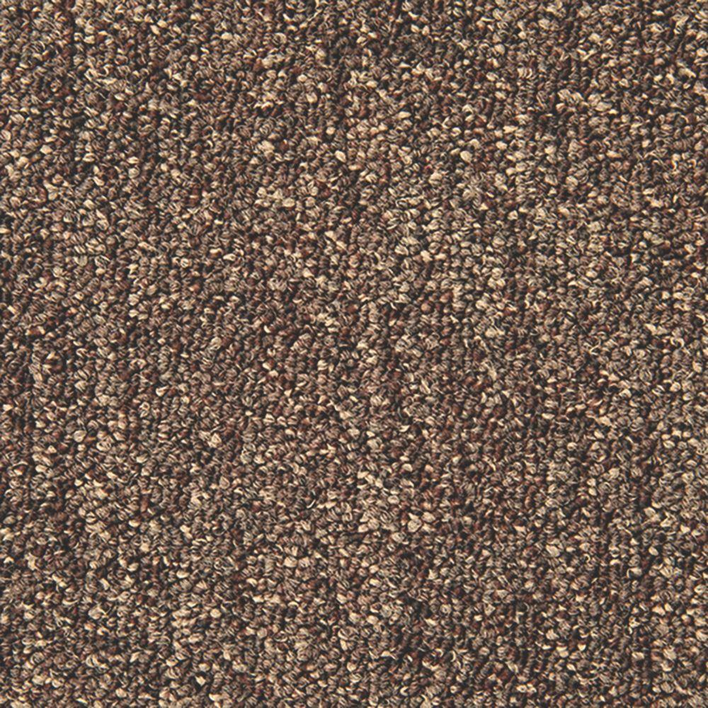 Abingdon Carpet Tile Division Unity Carpet Tiles Chocolate 20 Pack