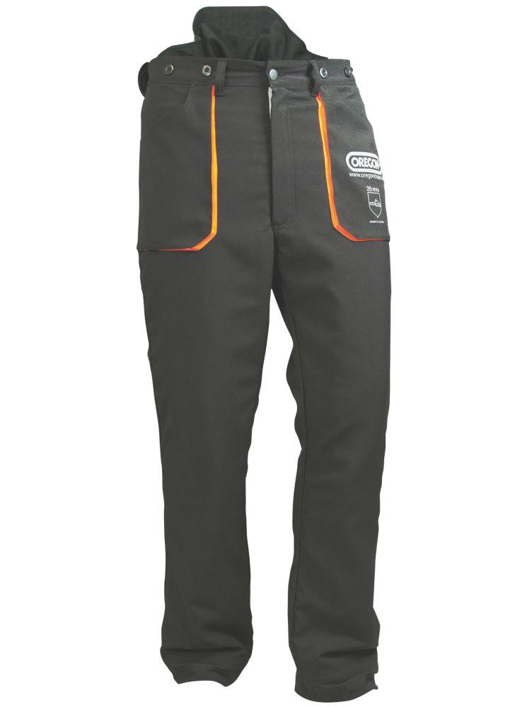 "Oregon Yukon  Chainsaw Trousers Black 30-34"" (76-88cm) Waist  31"" (79cm) Leg"