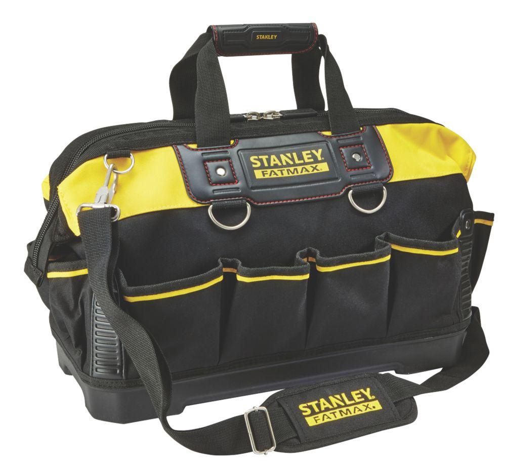 "Stanley FatMax  Hard Base Tool Bag 18"""