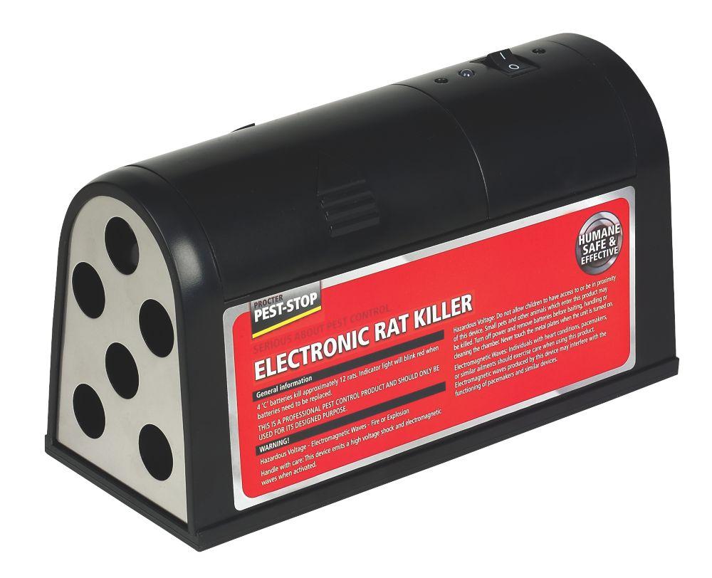 Pest-Stop Plastic & Metal Battery-Powered Rodent Killer