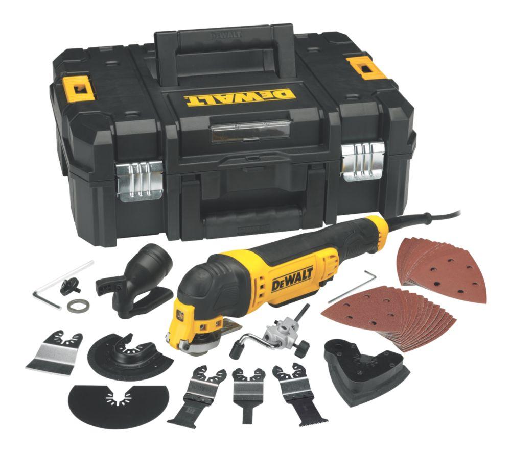 DeWalt DWE315KT 300W  Electric Multi-Cutter 240V