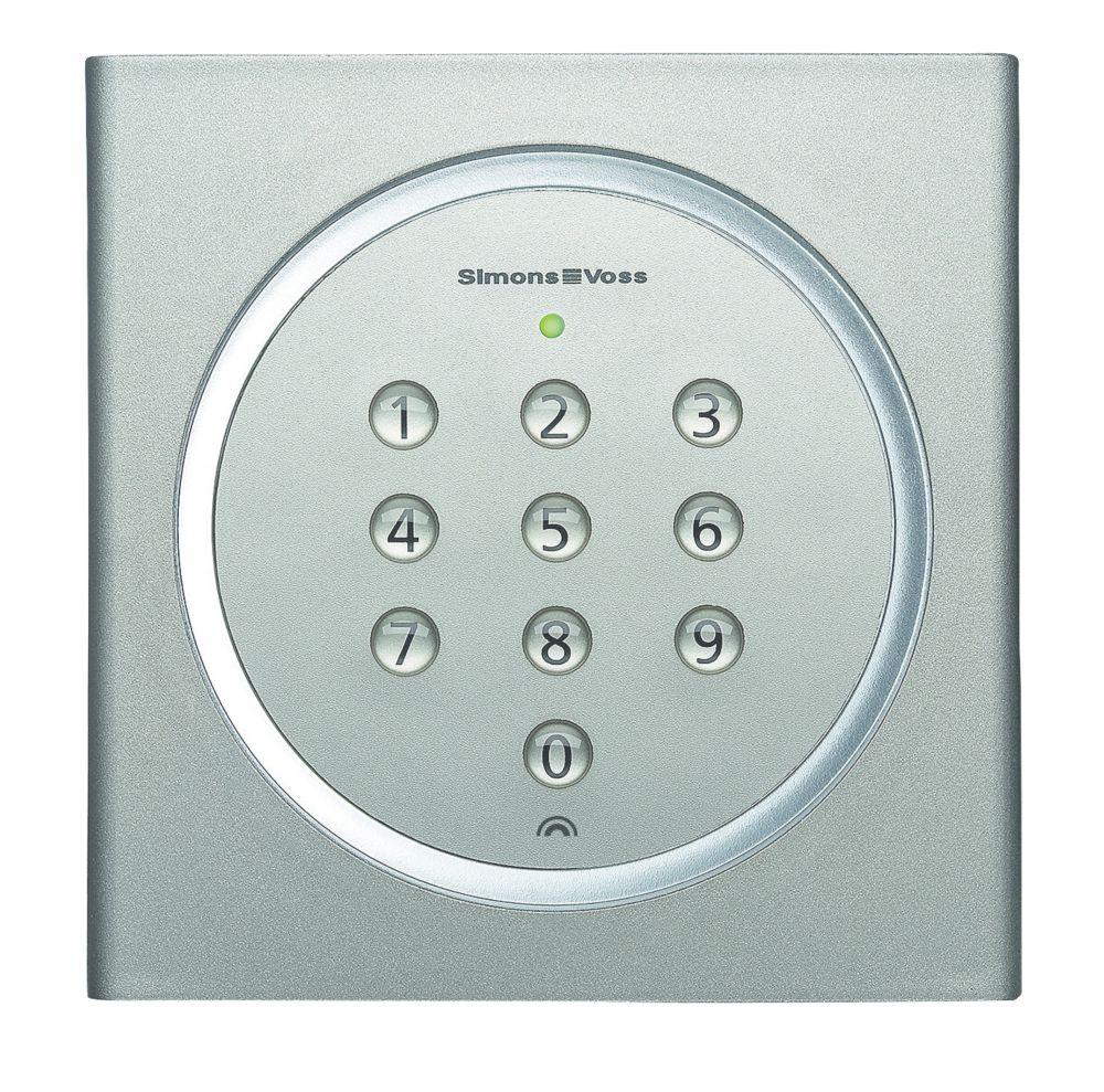 SimonsVoss SV.MK.TRA.PINCODE Battery-Powered MobileKey Pin Code Keypad Silver