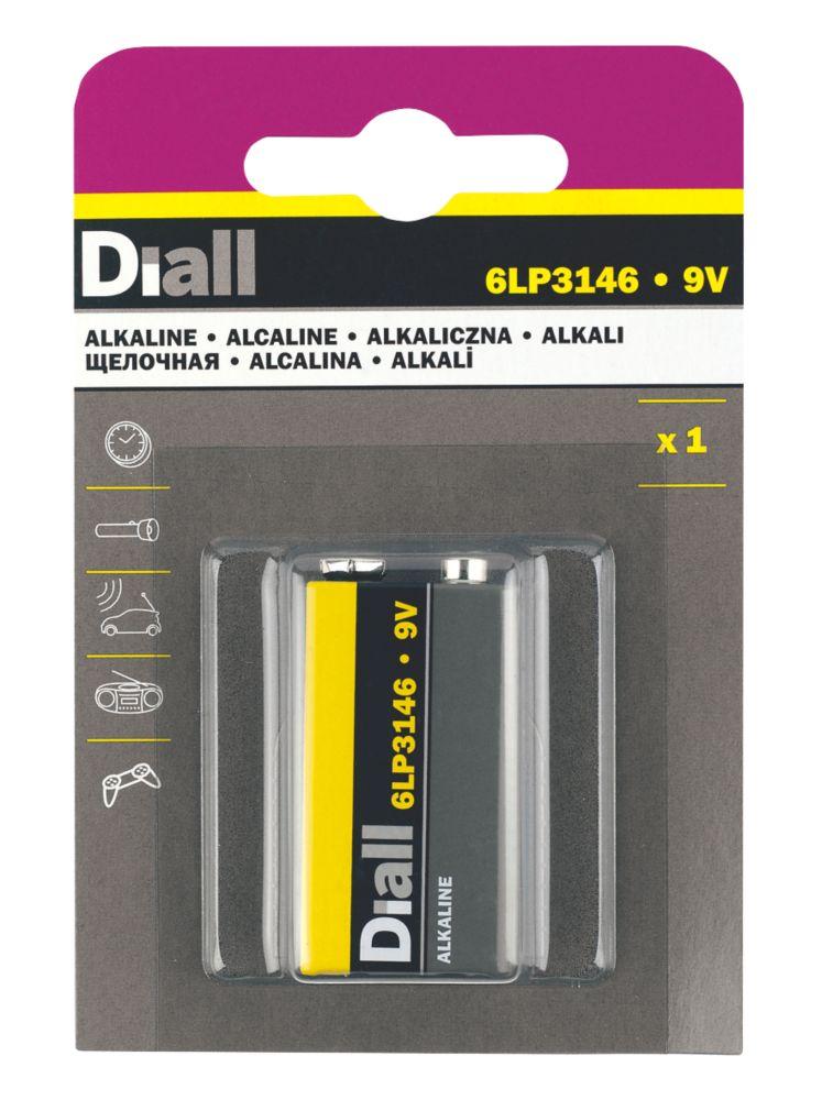 Diall  9V Batteries