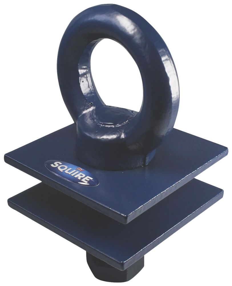 Squire Sold Secure Hardened Steel Ground Anchor Navy Blue One Size 100mm