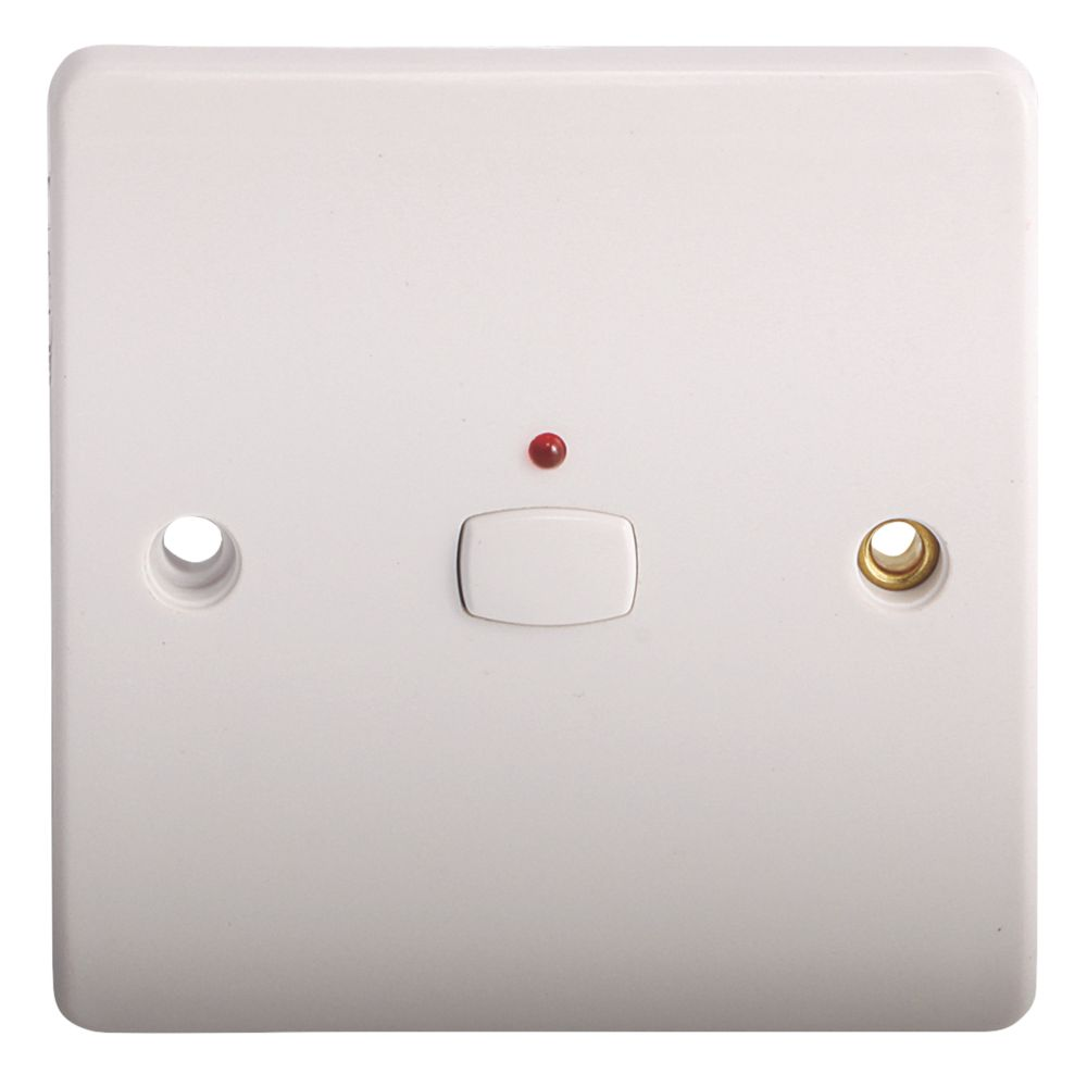 Energenie 1-Gang 1-Way Light Switch White