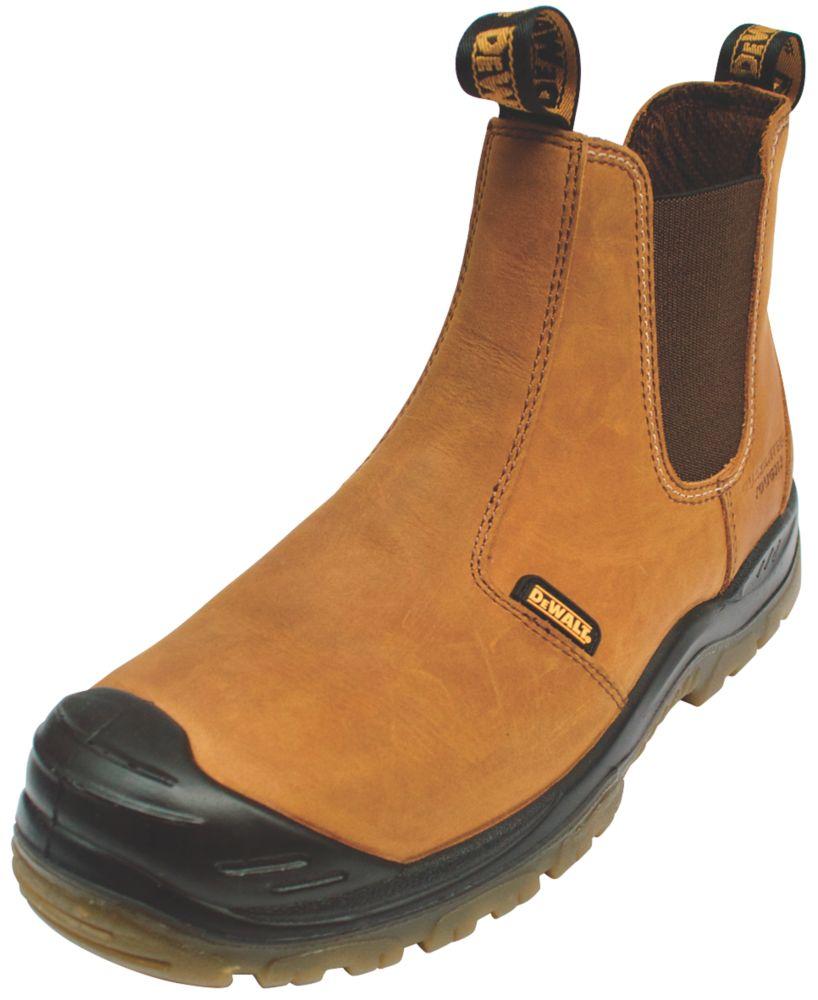 DeWalt Irvine   Safety Dealer Boots Tan Size 7