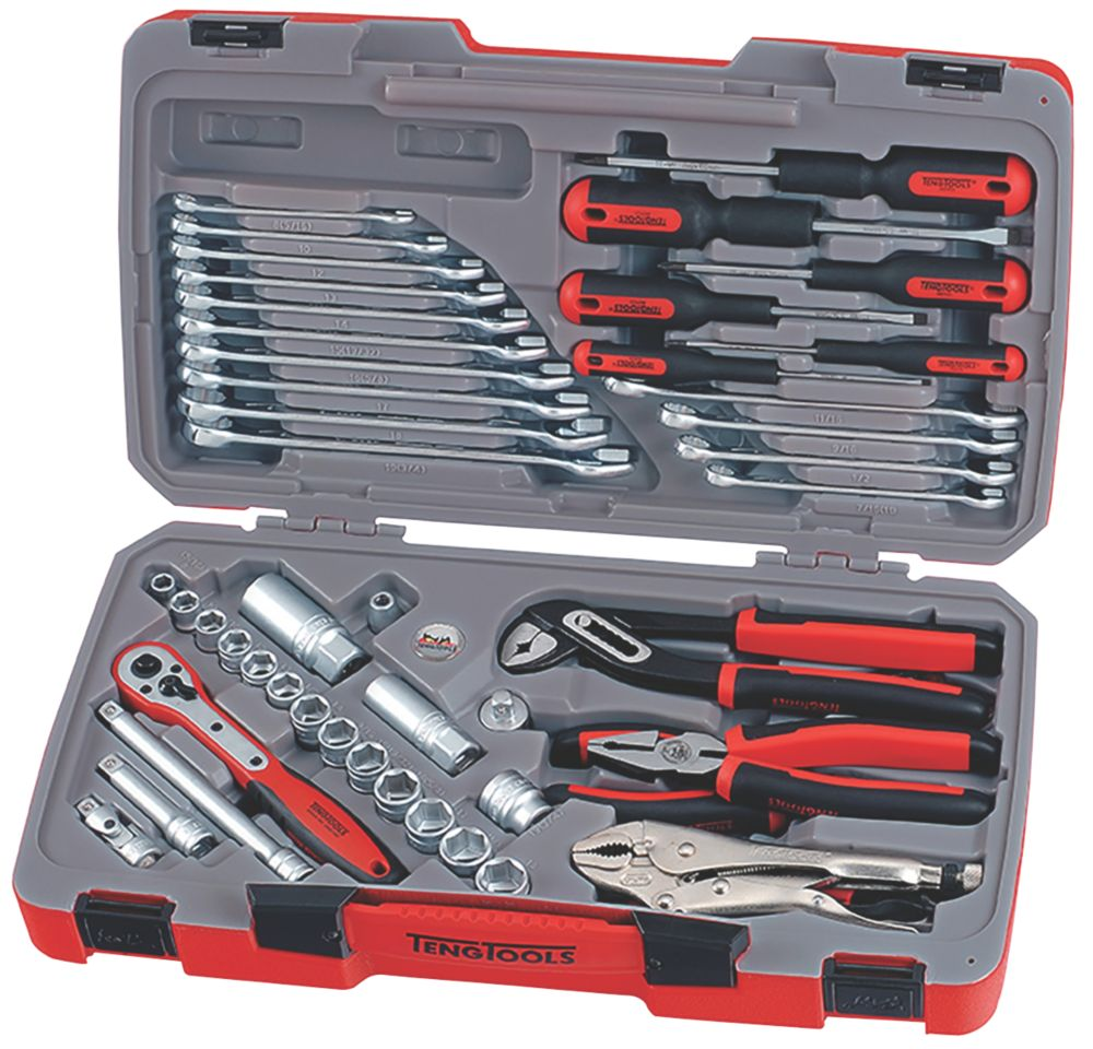 "Teng Tools  3/8"" Drive Socket & Tool Set 48 Pieces"