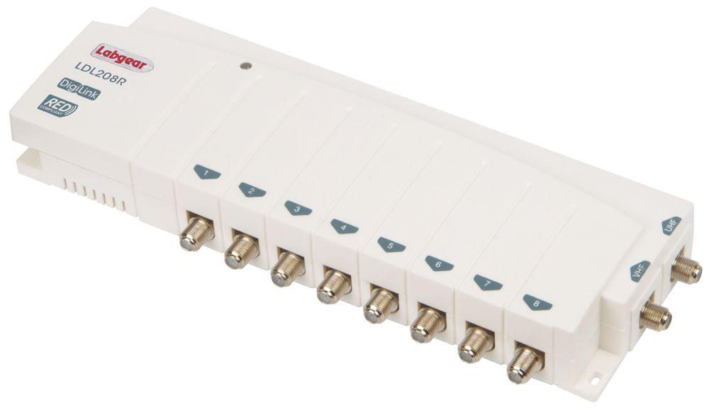 Labgear LDL208R 8-Way Distribution Amplifier