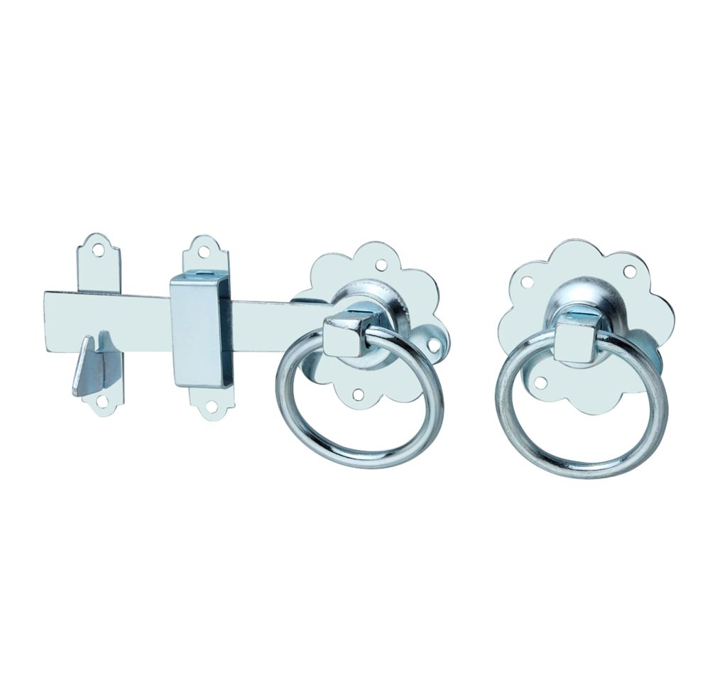 Hardware Solutions Ring Gate Latch Kit Silver