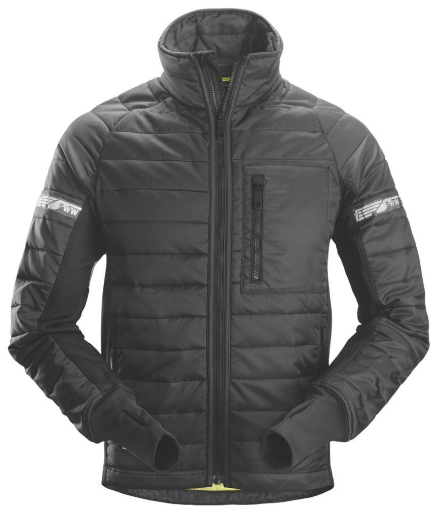 "Snickers 8101 Insulator Jacket Black Medium 39"" Chest"