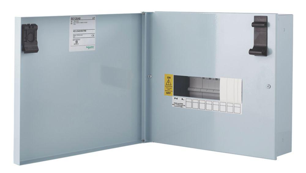 Schneider Electric KQ 8-Way Non-Metered  Distribution Board