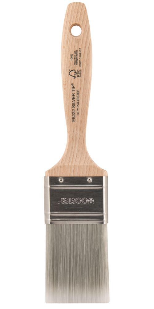 """Wooster Silver Tip Synthetic Bristle Paint Brush 2"""""""