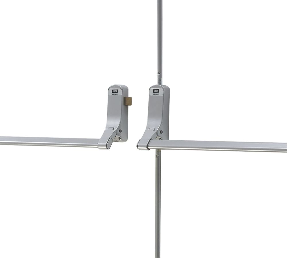 Union J-CE852DDREB-SIL Exisafe Rebated Timber Double Doorsets