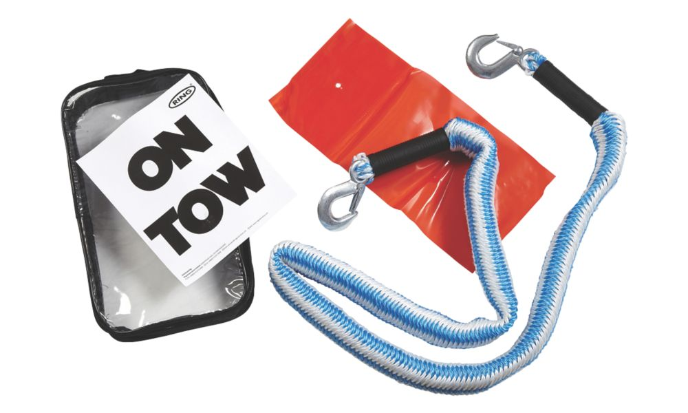 Ring 2 Tonne Elasticated Tow Rope 4m