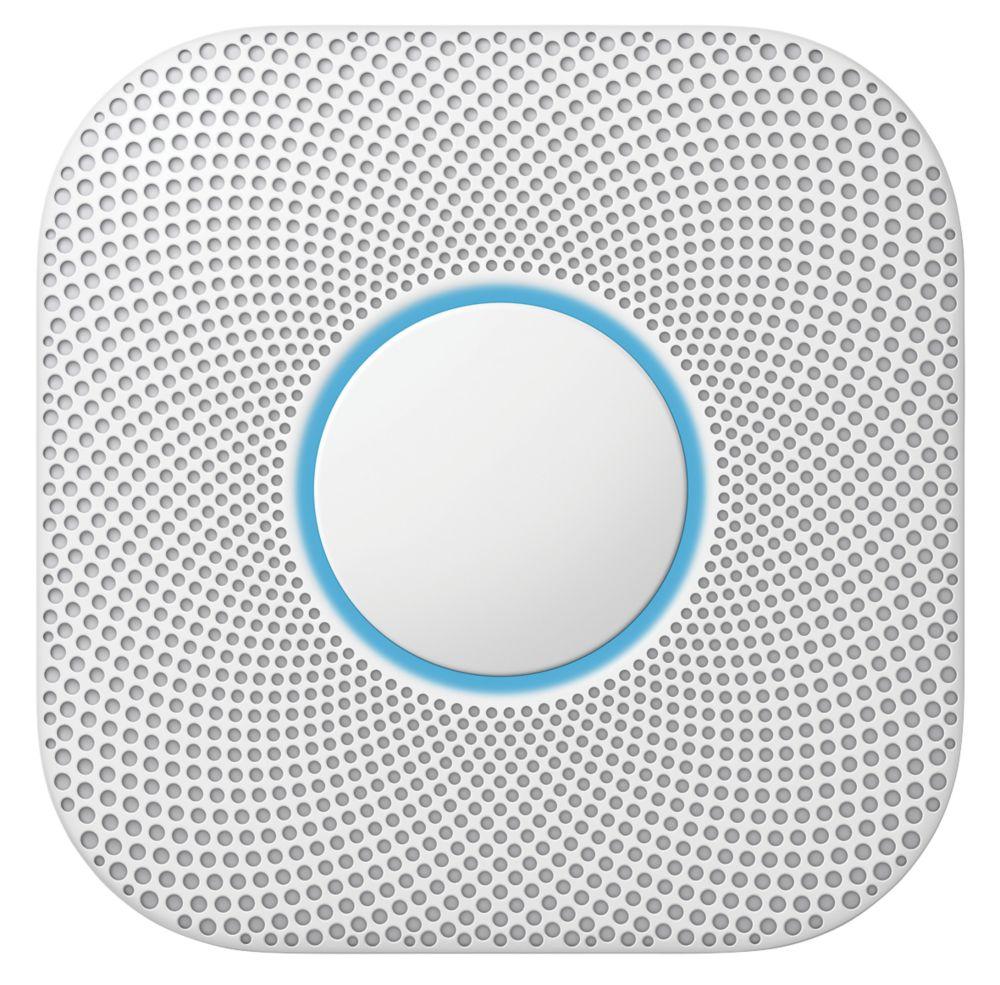 Google Nest S3003LW 2nd Generation Smoke & Carbon Monoxide Alarm
