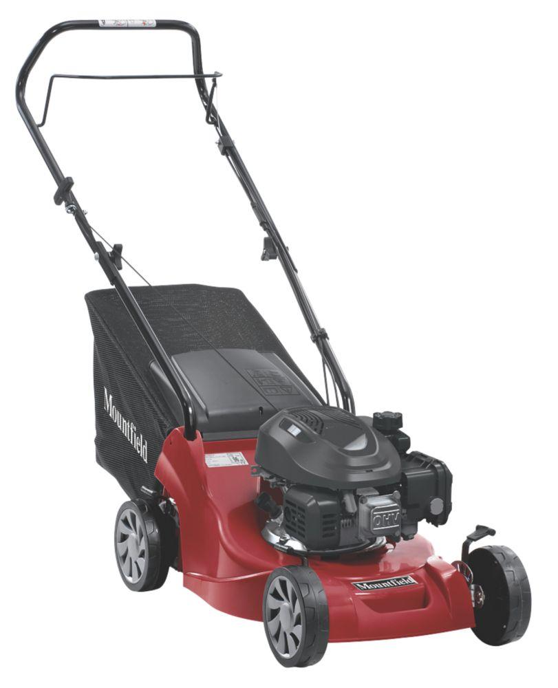 Mountfield HP164 39cm 123cc Hand-Propelled Rotary Petrol Lawn Mower