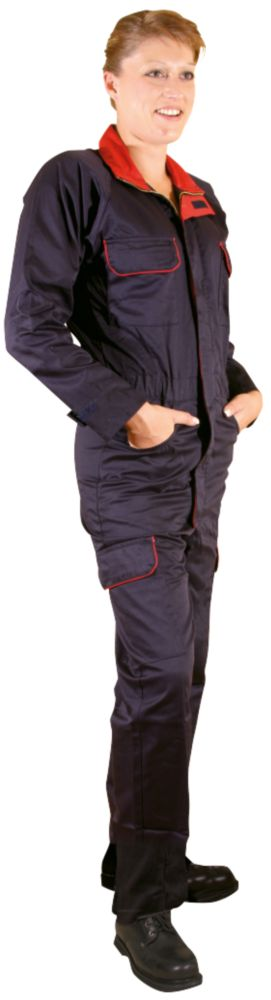 Dickies Redhawk Ladies Zip-Front Coverall Navy Size 14  L