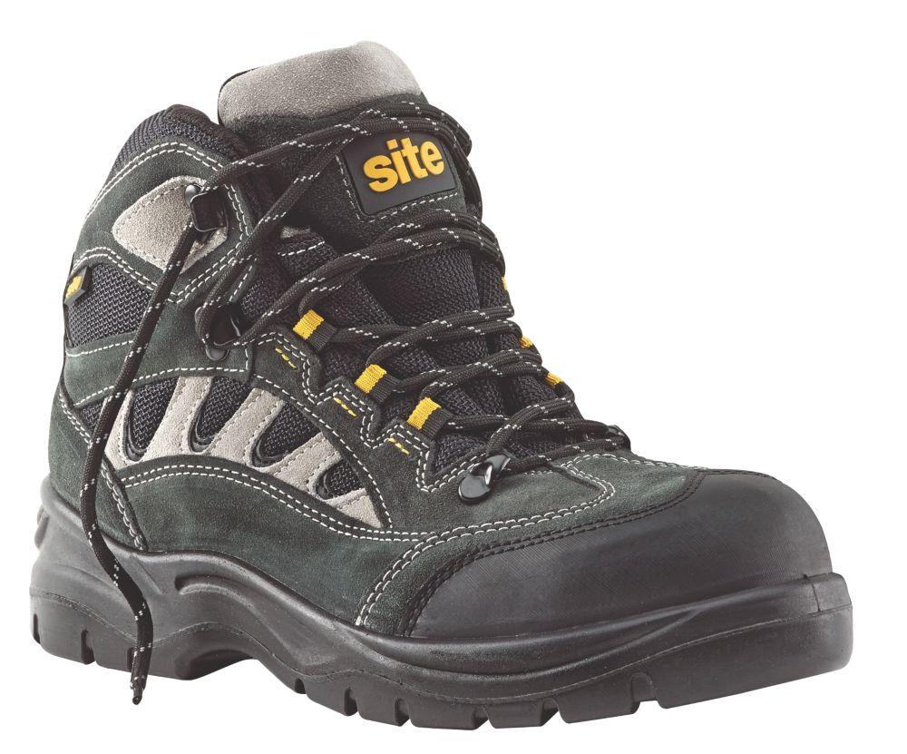 Site Granite   Safety Trainers Dark Grey Size 7