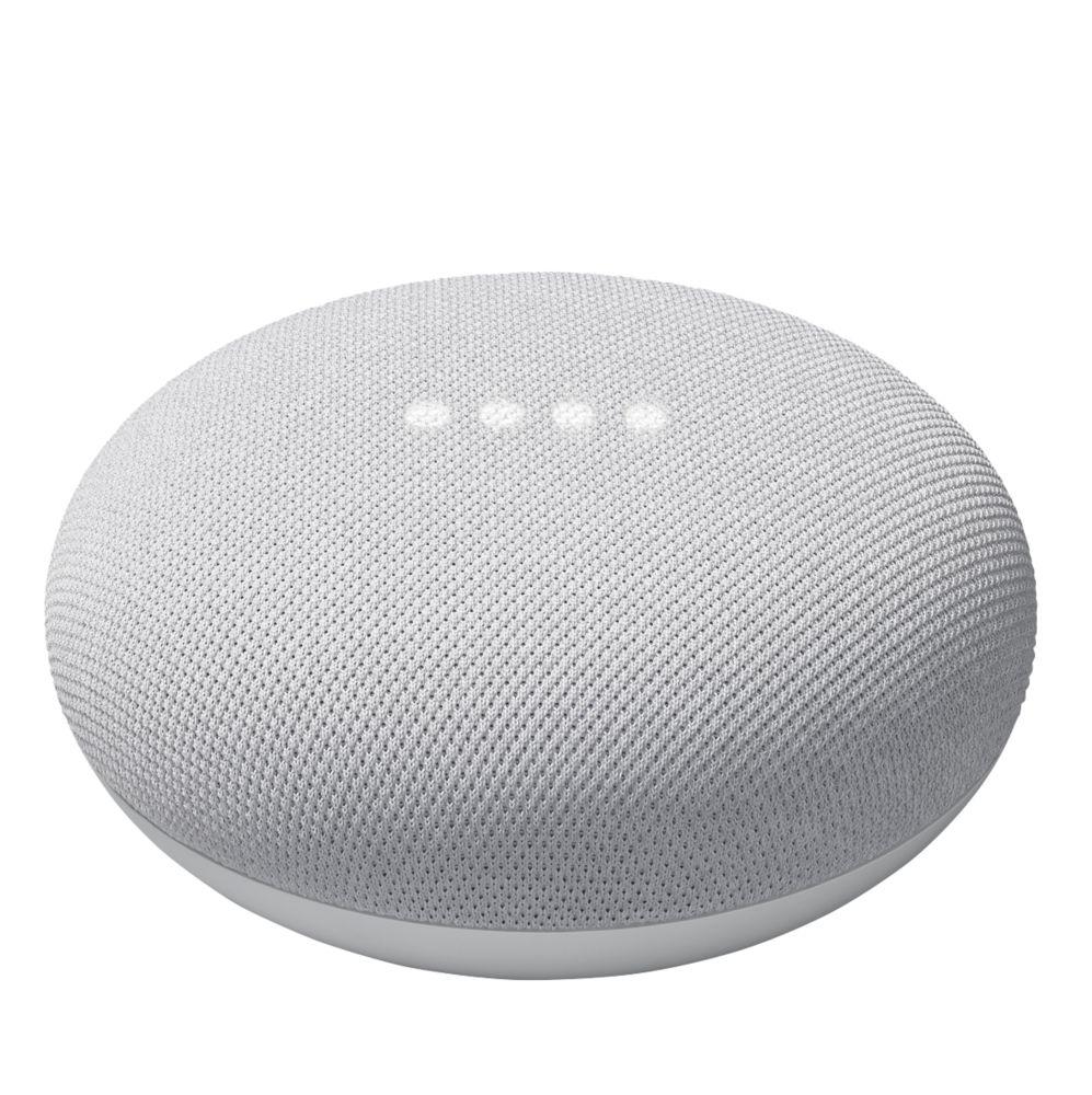 Google Nest Mini Voice Assistant Chalk
