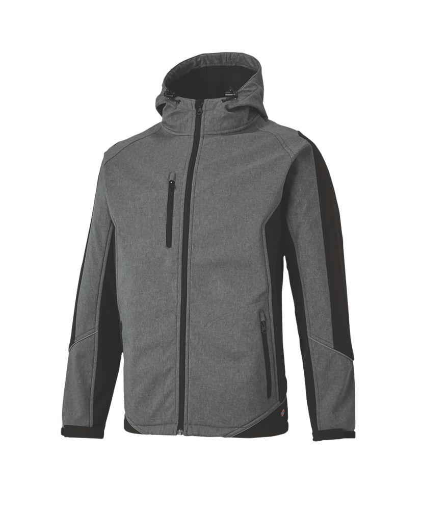 "Dickies Wakefield Reflective Jacket Grey / Black Medium 42"" Chest"