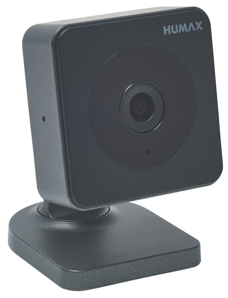 Humax Eye Mains-Powered Black Wireless 720p Indoor  IP Camera