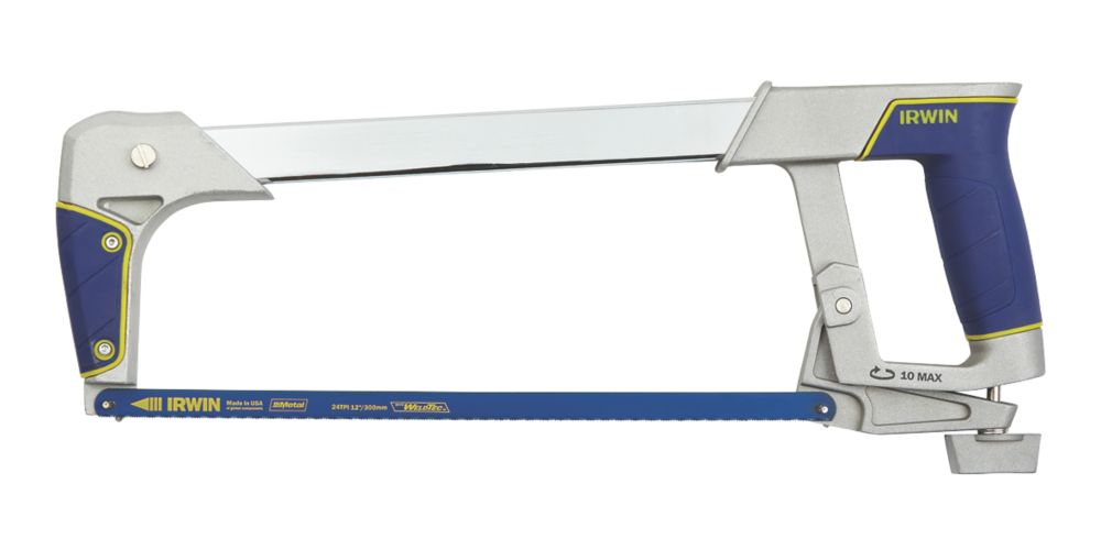 "Irwin  24tpi Plastic Heavy Duty Hacksaw 12"" (300mm)"