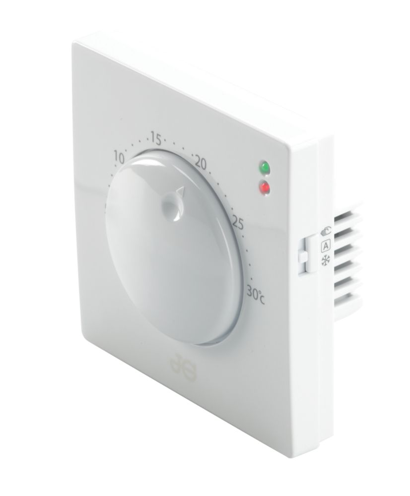 JG Speedfit JGSTAT1 Dial Thermostat White 230V
