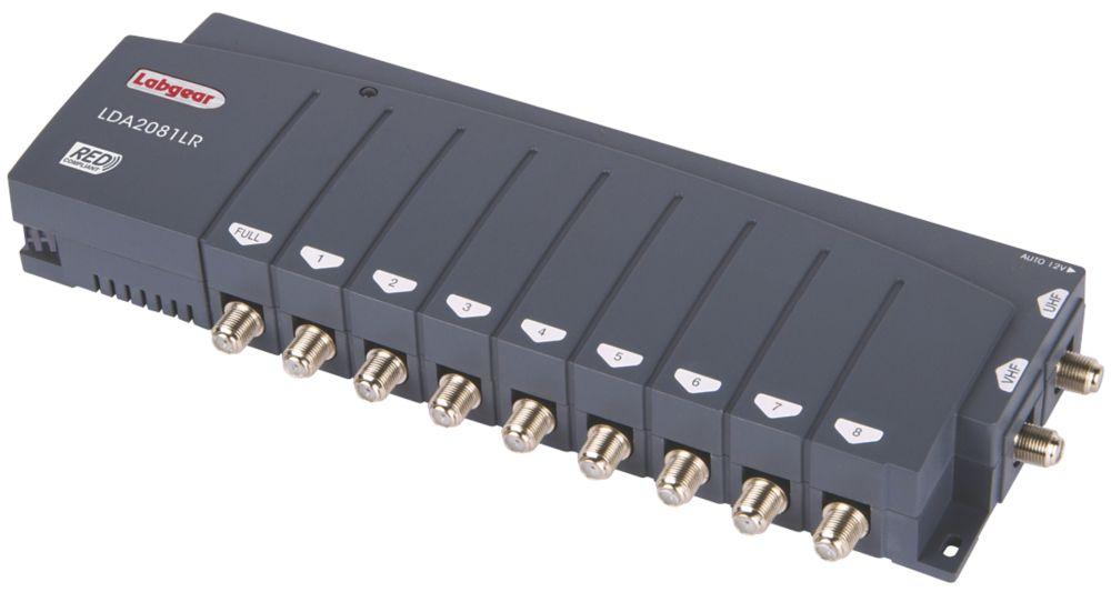 Labgear LDA2081LR 8-Way Distribution Amplifier