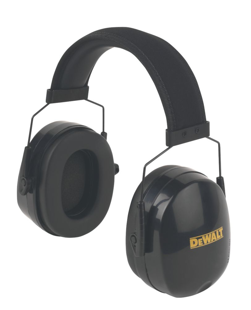 DeWalt Premium Ear Defenders 27dB SNR