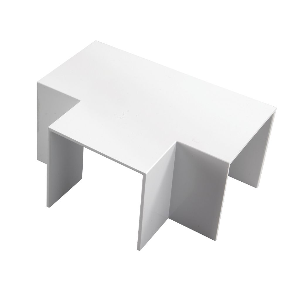Tower  Trunking Flat Tee 50 x 50mm