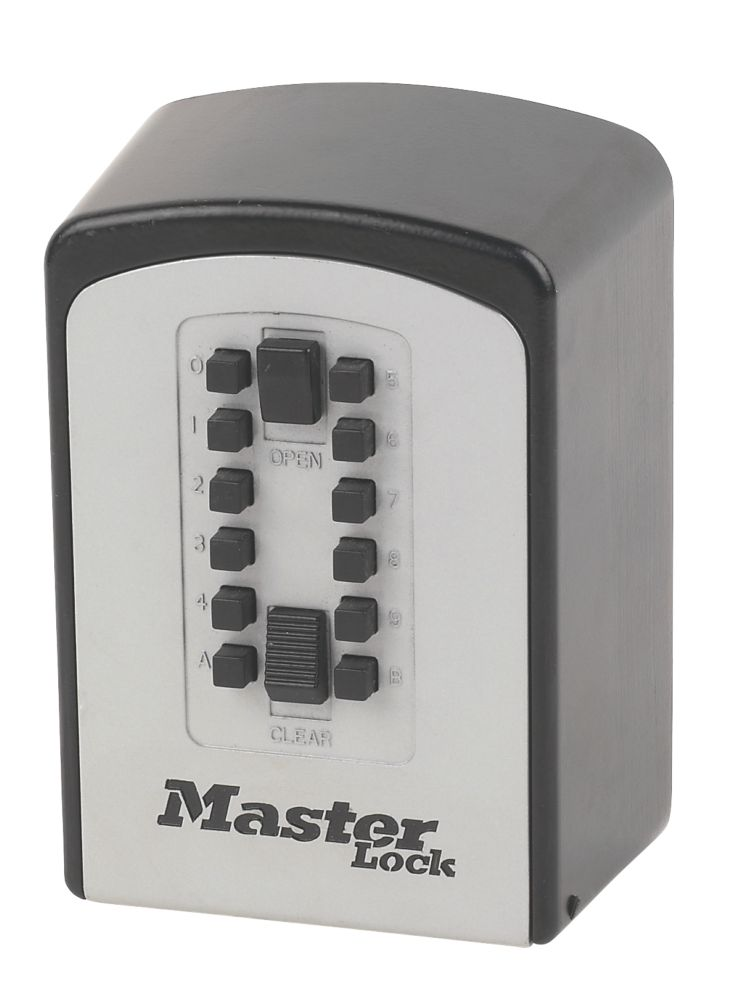 Master Lock   Push Button Combination Key Safe