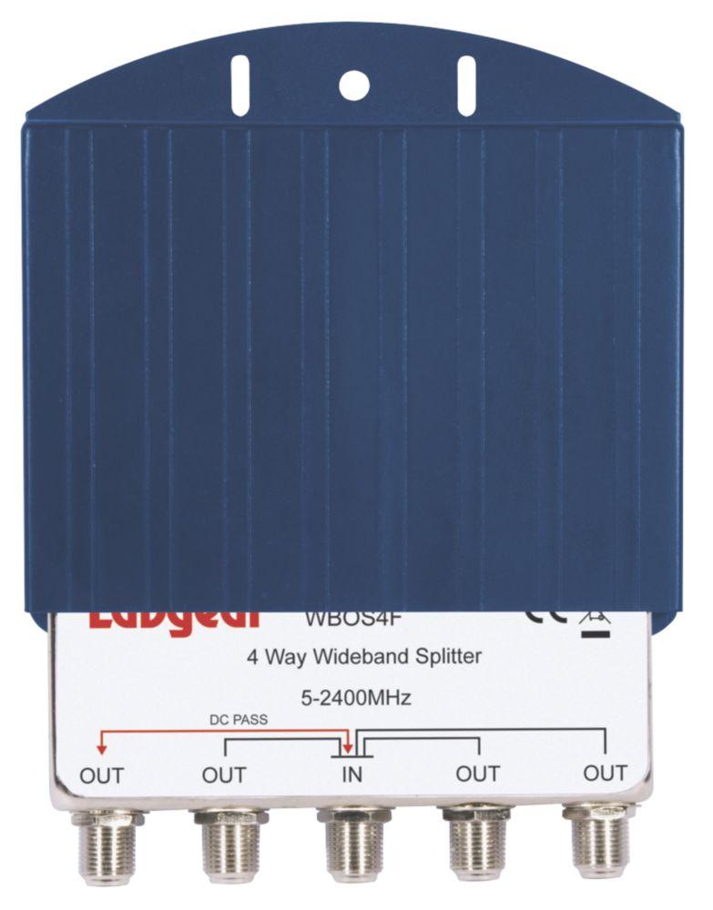 Labgear 4-Way Outdoor Splitter