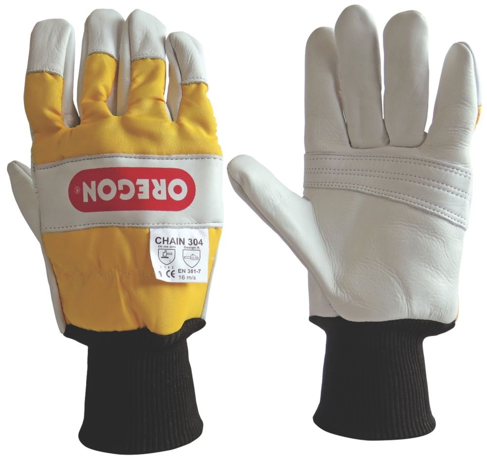 Oregon  2-Handed Protection Chainsaw Gloves Medium