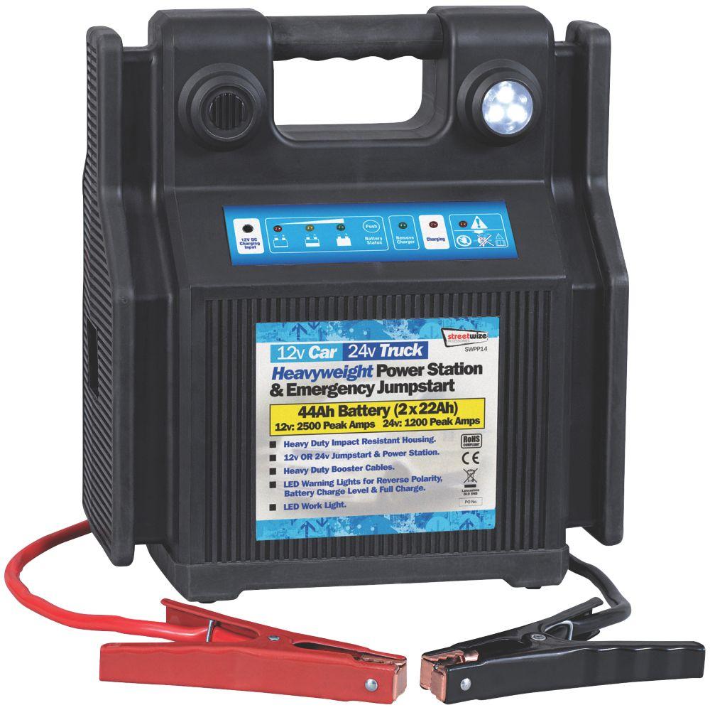 Streetwize 900A Power Pack Jump Starter 12 / 24V