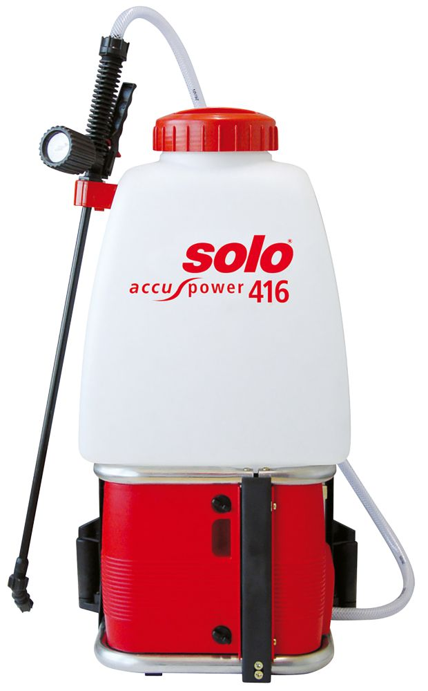 Solo SO416 White Battery-Operated Backpack Sprayer 20Ltr