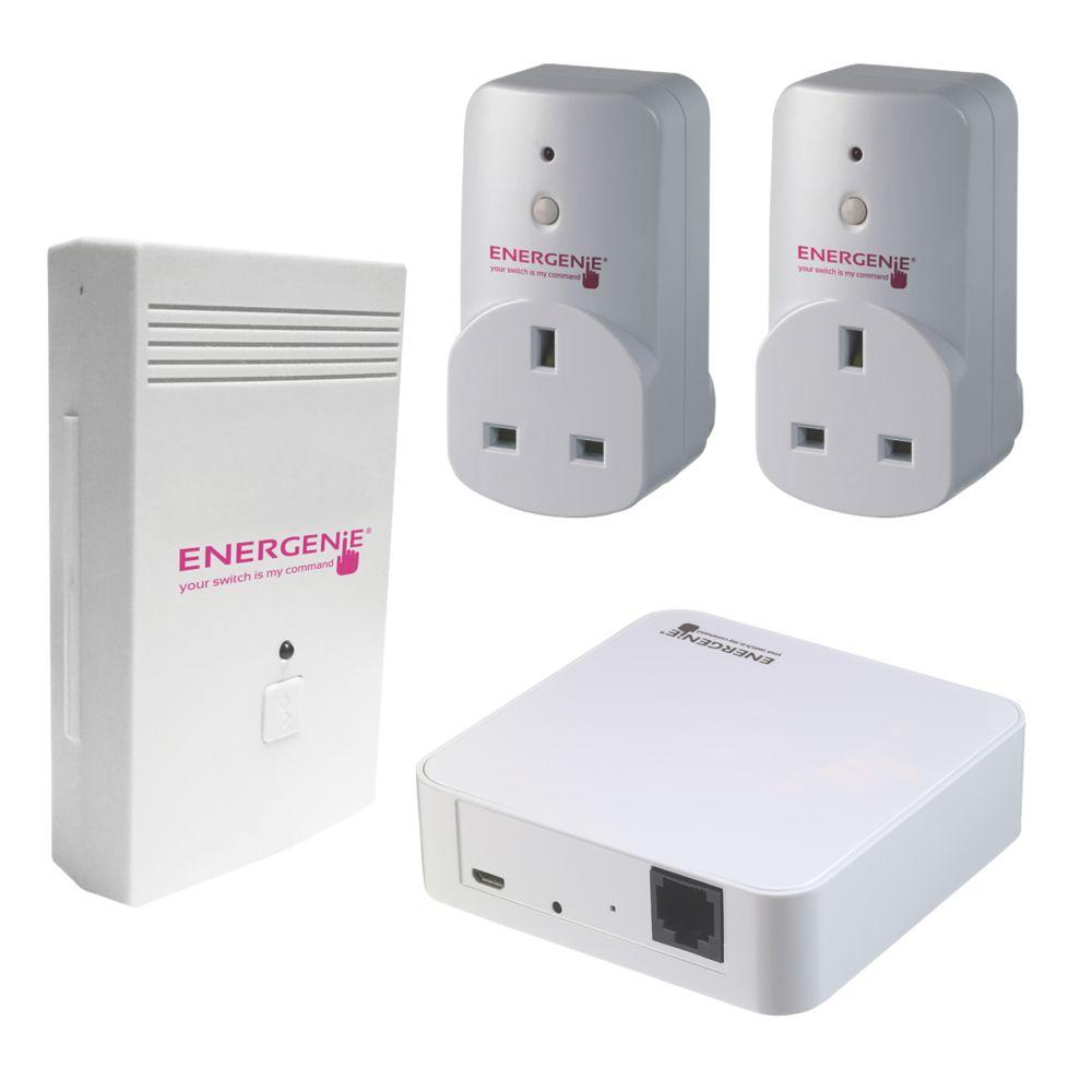 Energenie Energy Monitor Socket & Gateway Set