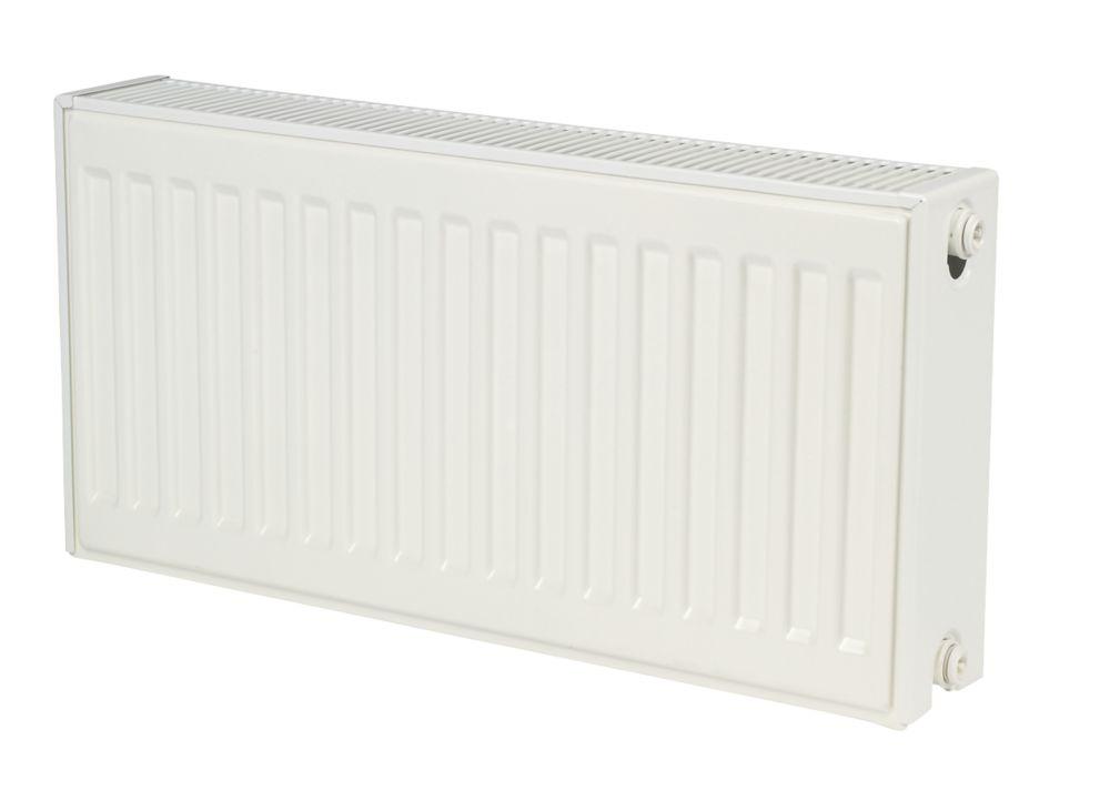 Kudox Premium  Type 22 Double-Panel Double Convector Radiator 400 x 700mm White 3043BTU