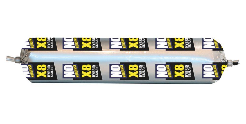 No Nonsense X8 Hybrid Sealant & Adhesive Grey 400ml