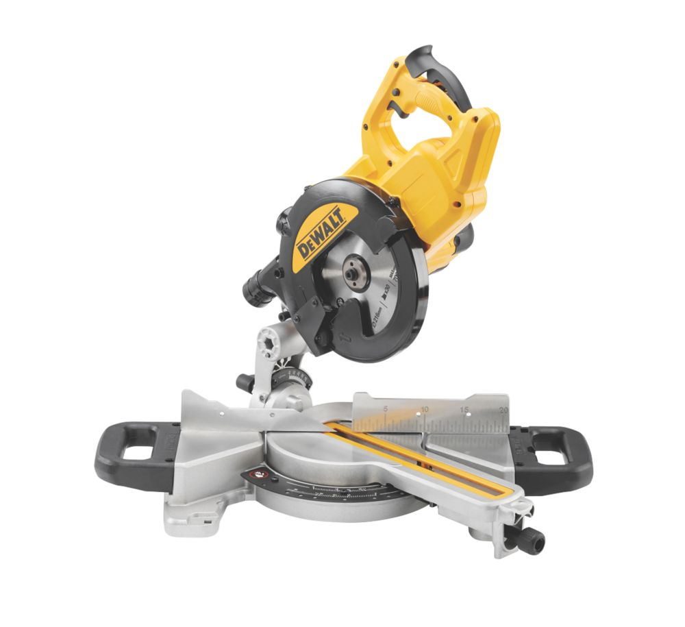 DeWalt DWS773-LX 216mm  Electric Single-Bevel Sliding Compound Mitre Saw 110V