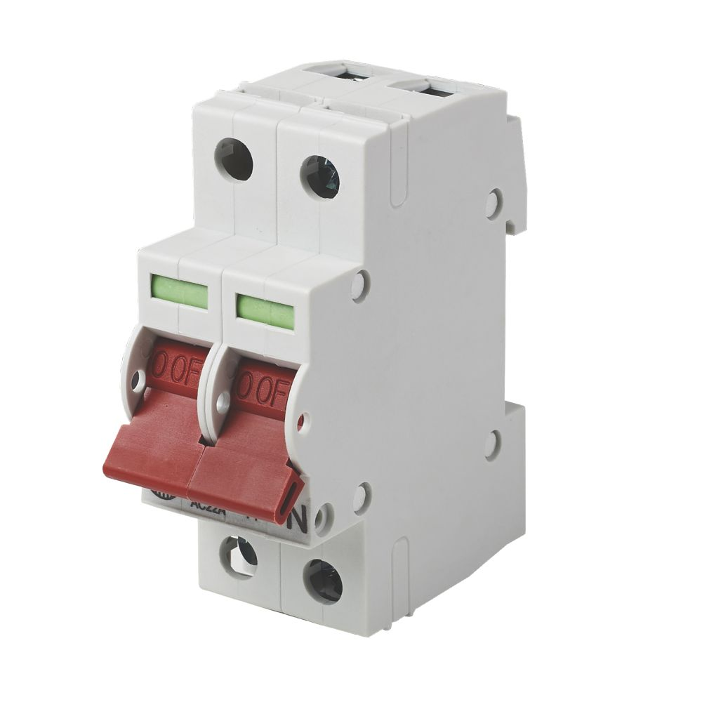 Wylex NH / NM 125A DP  Main Switch Disconnector Incomer