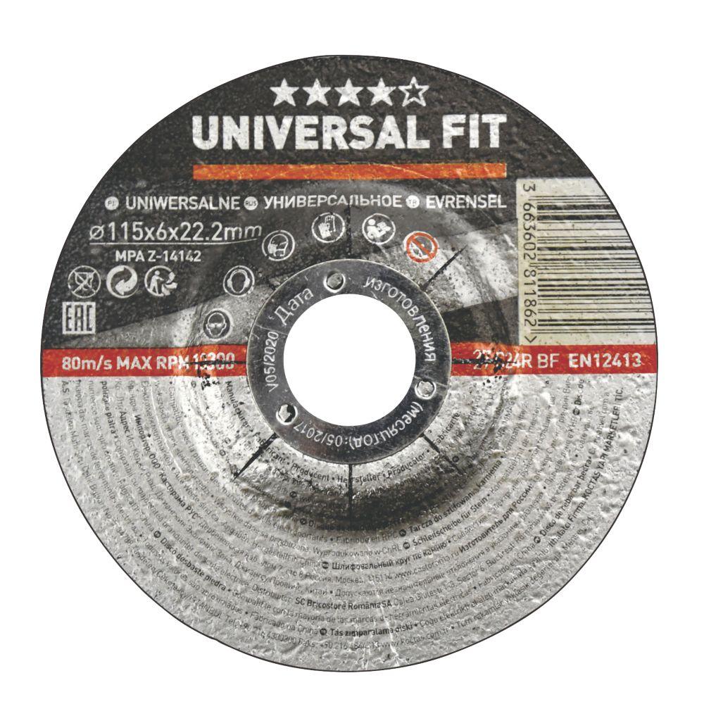 "Stone Grinding Disc 4½"" (115mm) x 6 x 22.2mm"