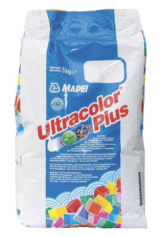 Mapei Ultracolor Plus Wall & Floor Grout Black 5kg