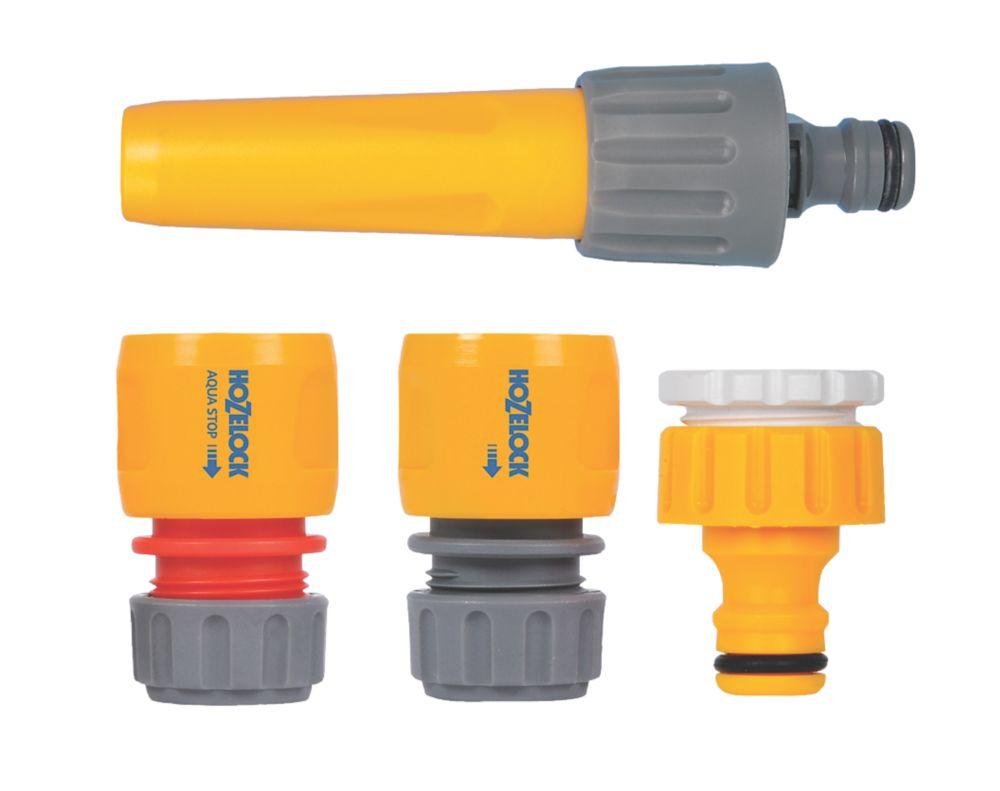 Hozelock Sprayer & Hose Fittings Starter Kit 4 Pieces