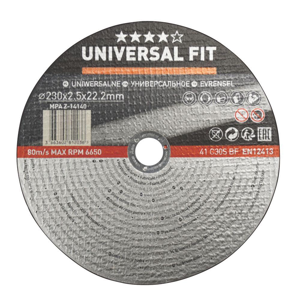 "Masonry/Stone Stone Cutting Disc 9"" (230mm) x 2.5 x 22.2mm"